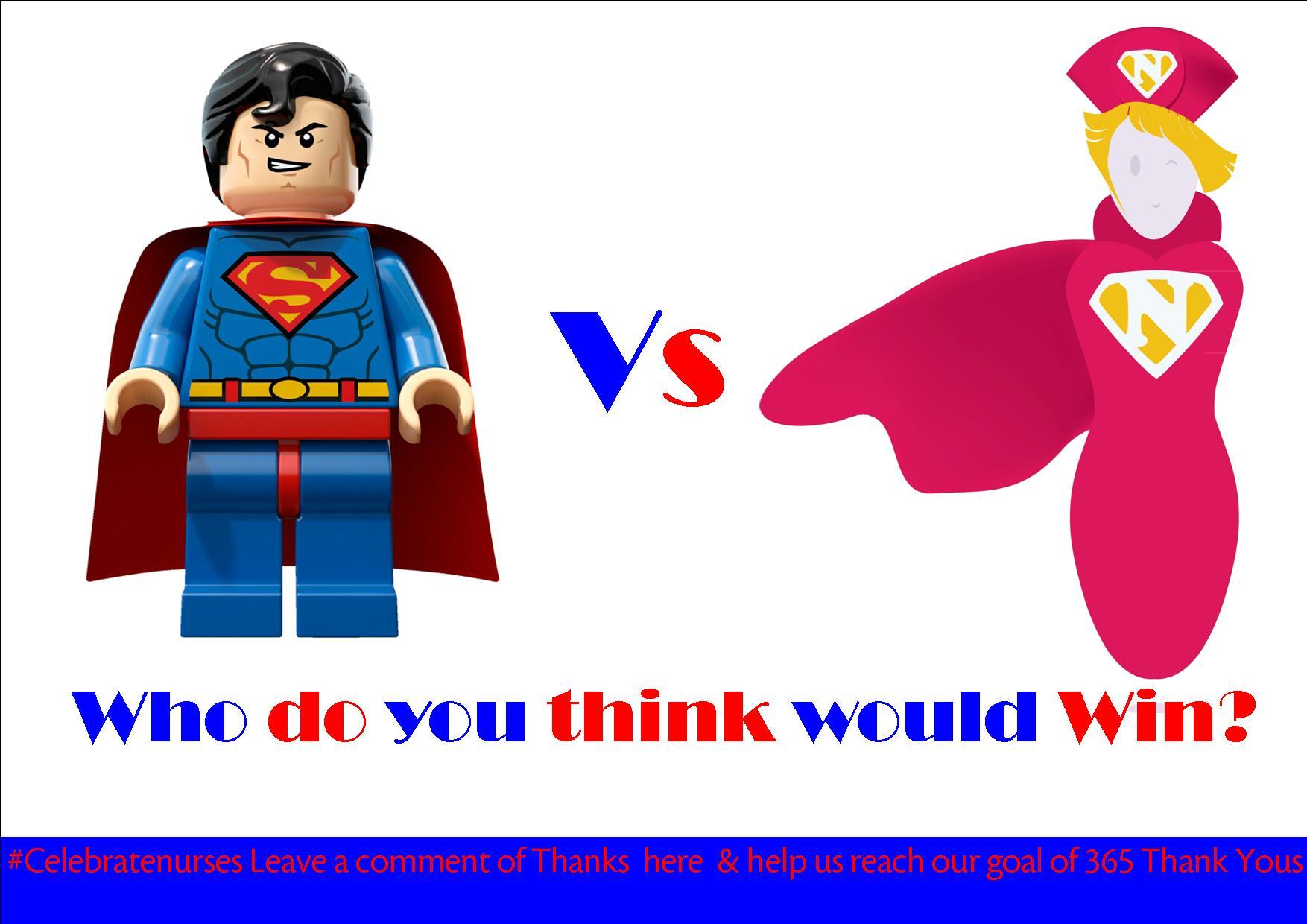 Nurse Recognition Week Comic Nurse Jobie Vs Superman