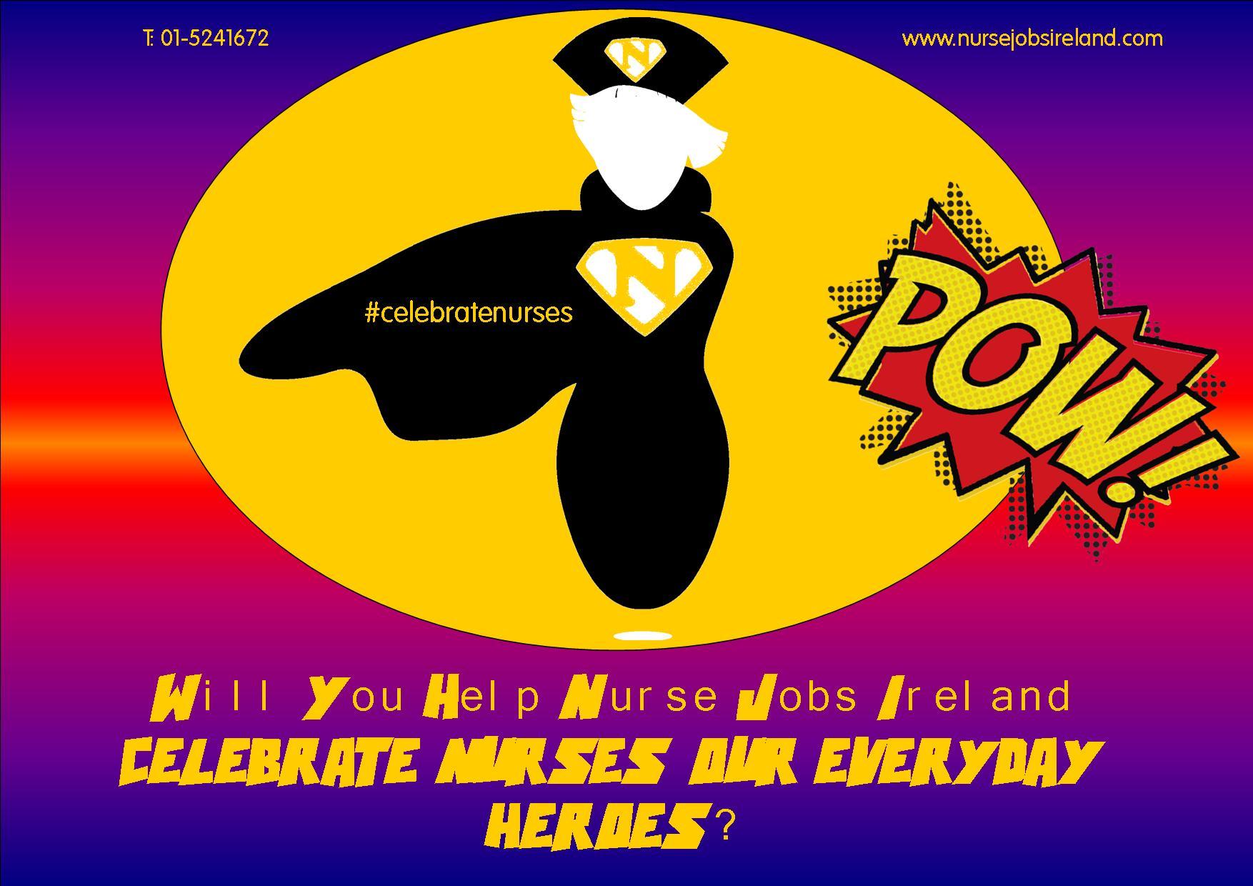 Nurse Recognition Week Comic Nurse Jobie