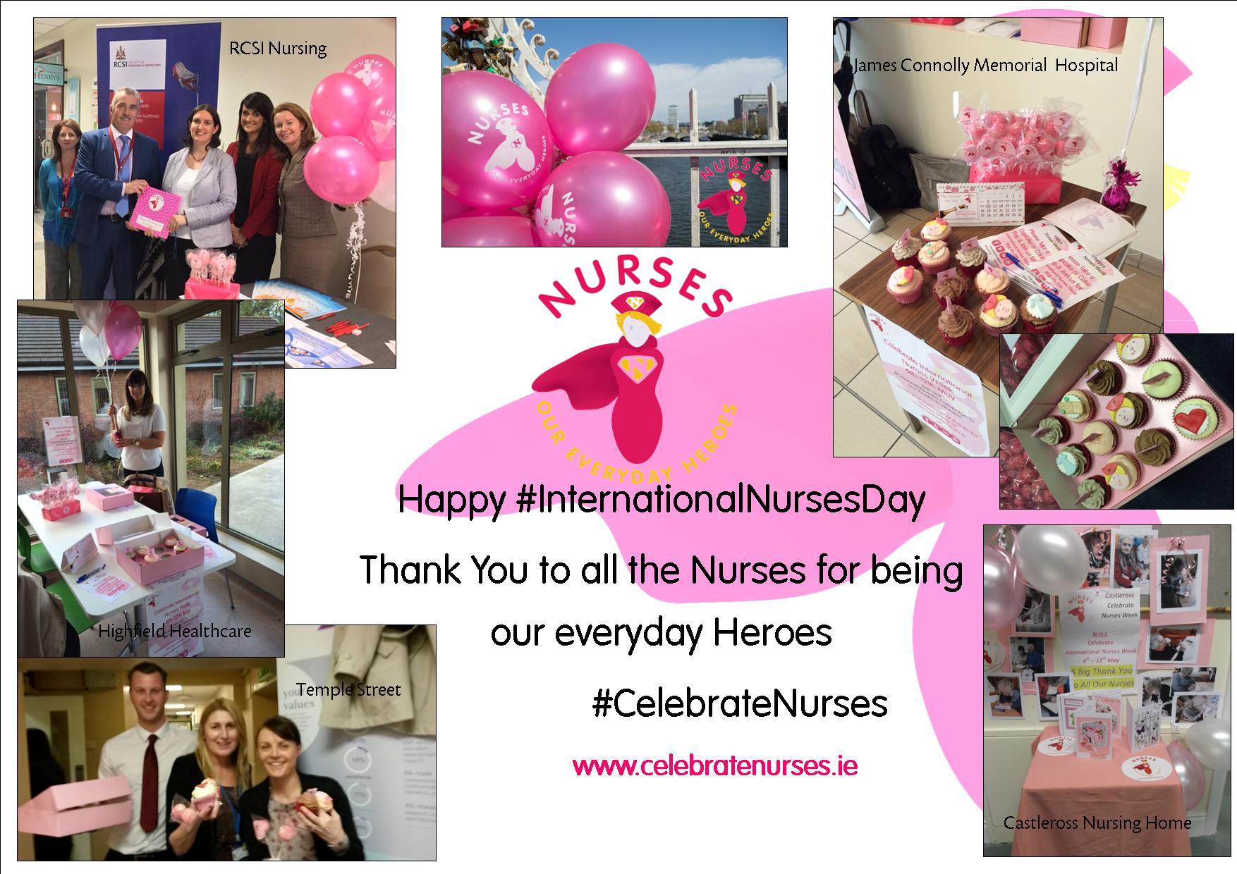 Nurse Recognition Week Nurses Week Collage